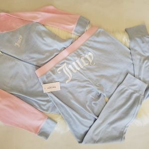 BNWT Juicy Couture Micro Terry Sweatsuit